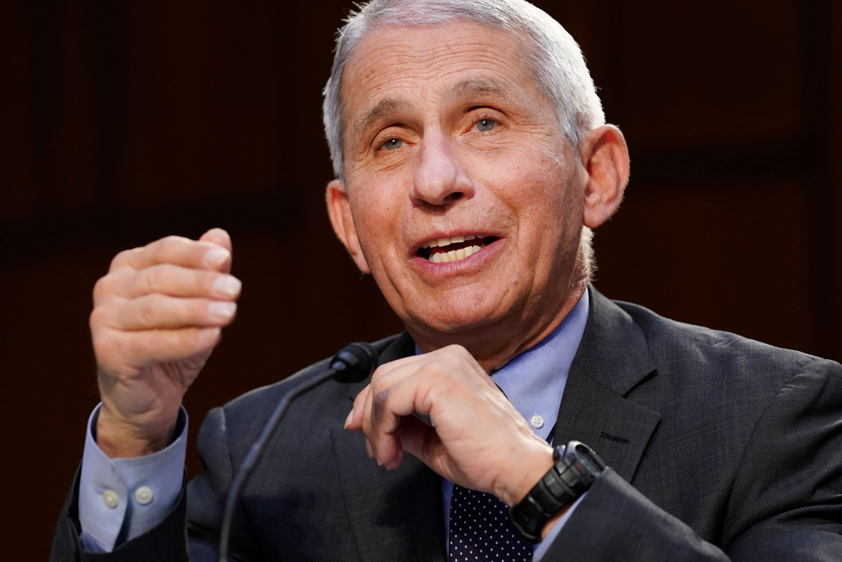 Fauci says U.S. must vaccinate more people before Delta becomes dominant Covid variant in America