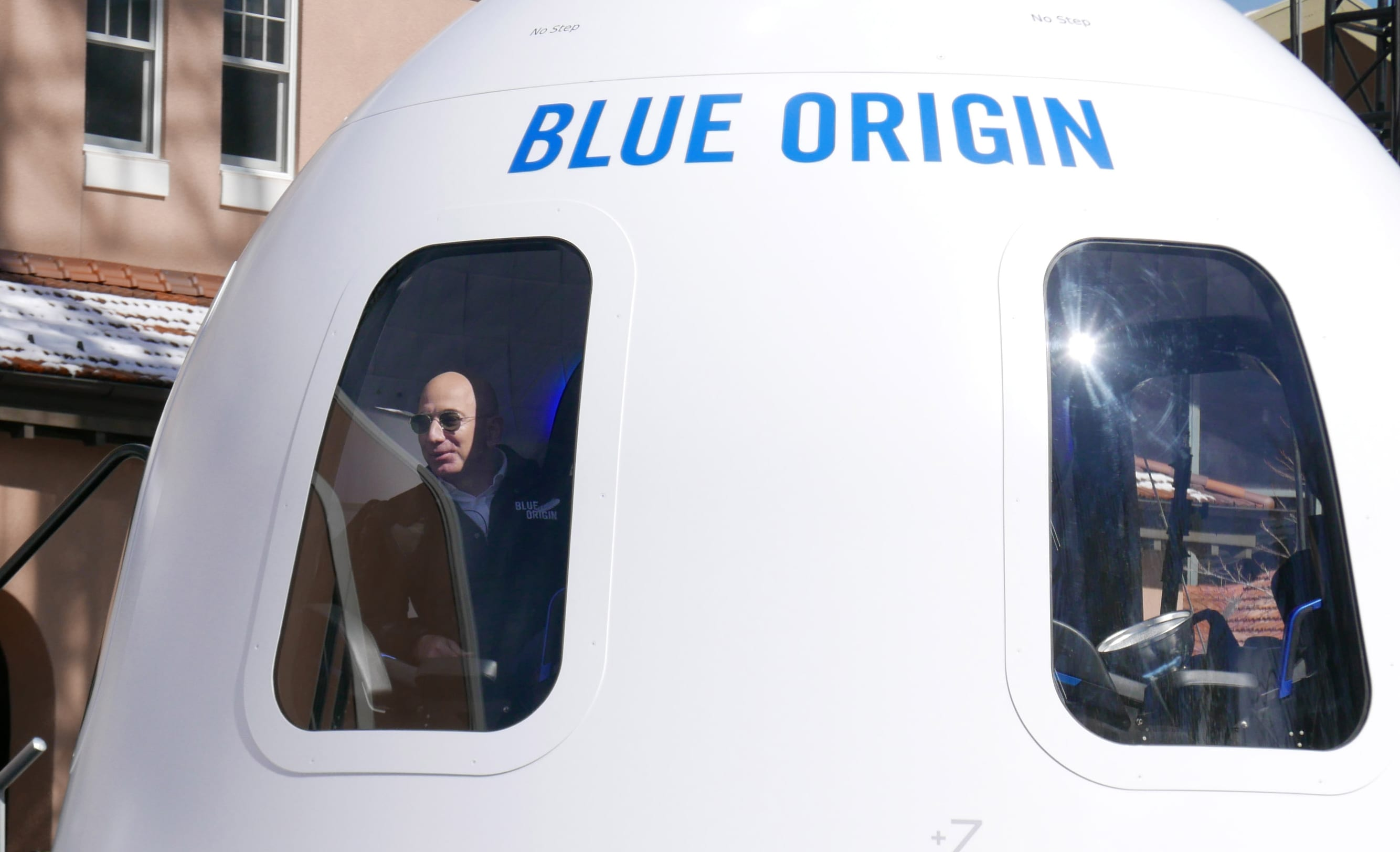 Jeff Bezos will fly on the first passenger spaceflight of his company Blue Origin in July
