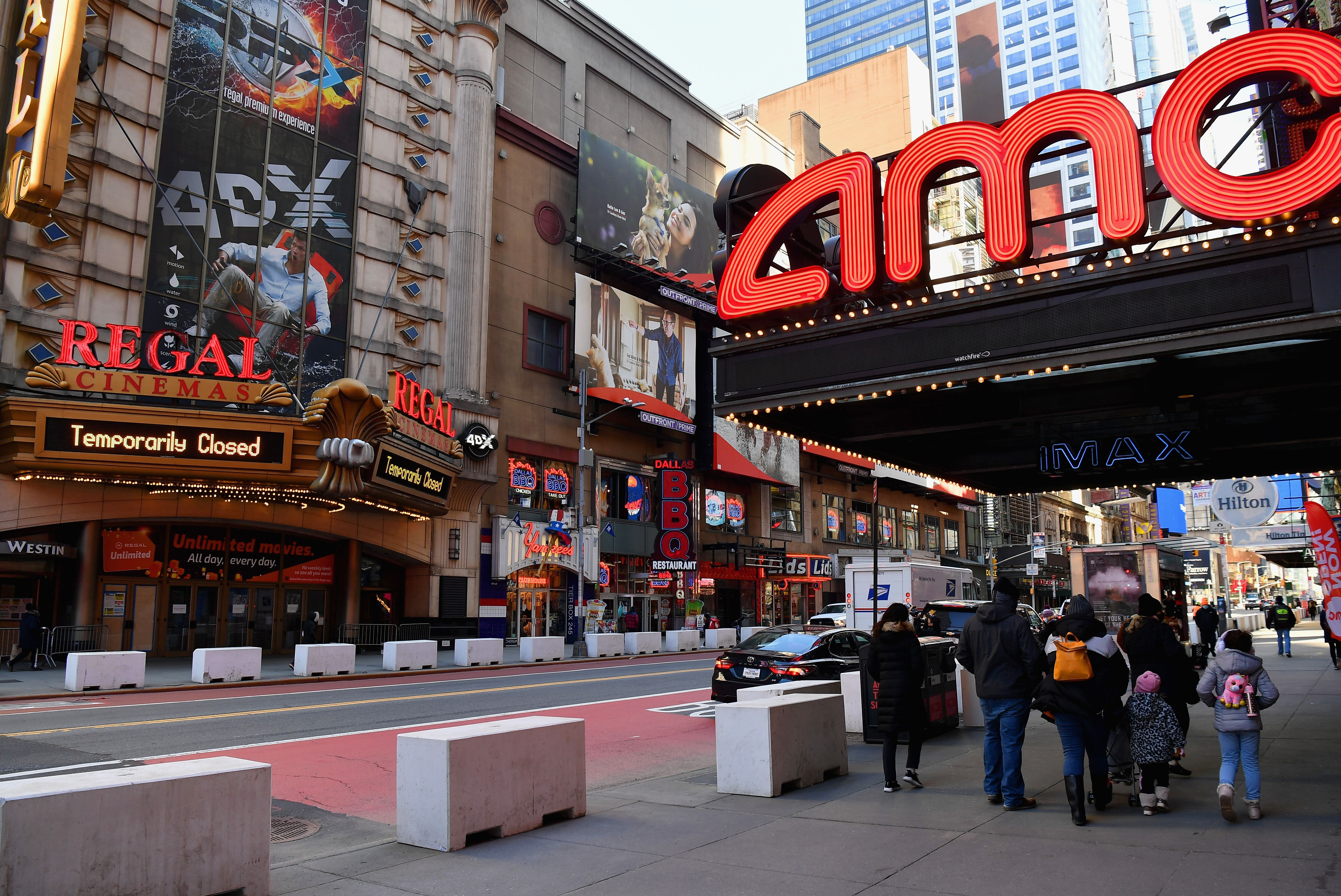 Meme stock AMC extends rally, jumps 19% as theater chain sells new shares to an investor