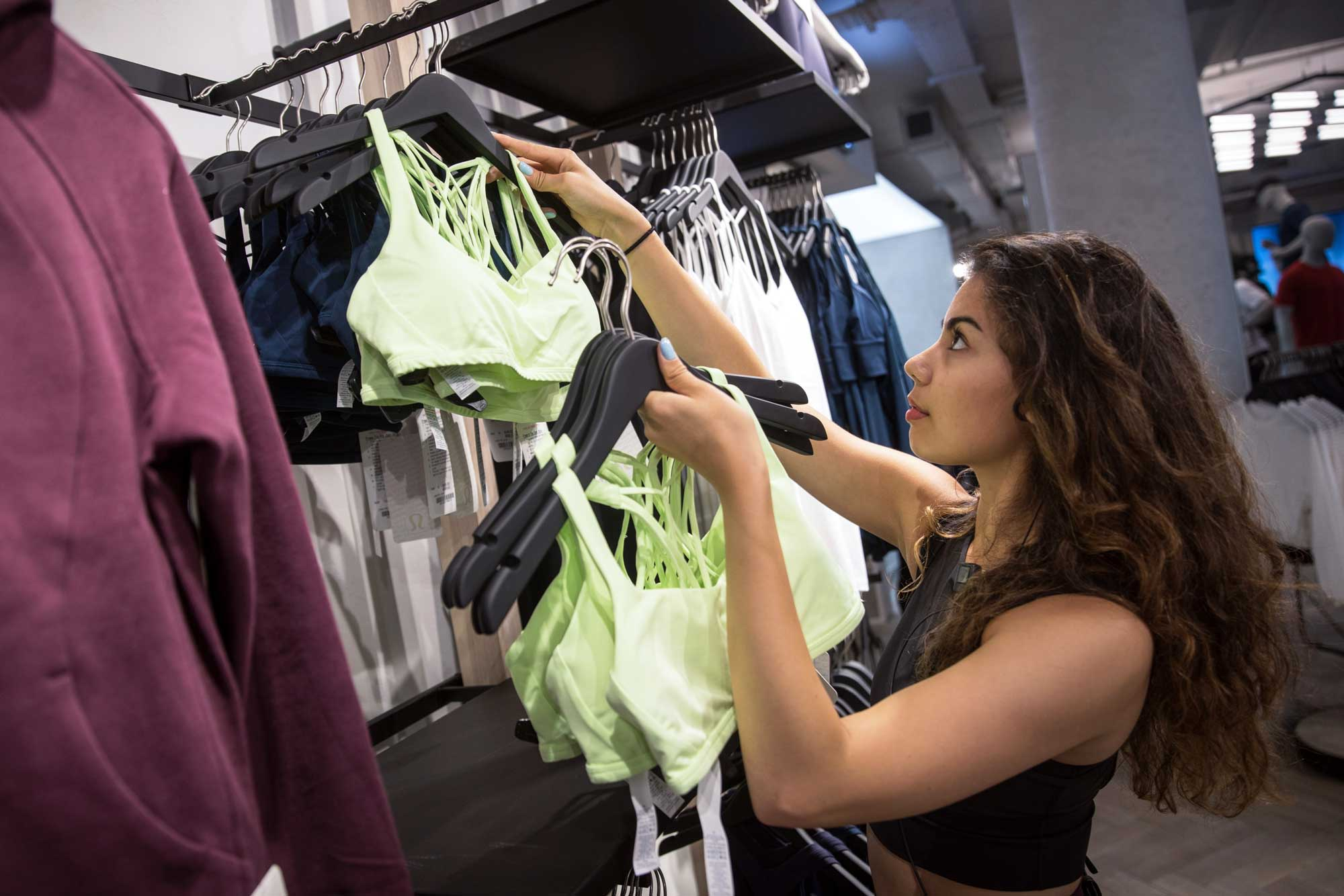 Activewear and workout stocks are on the move. Two traders flag their favorites