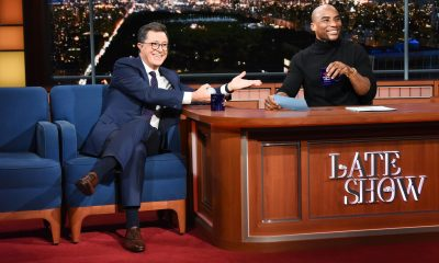 Charlamagne Tha God and Stephen Colbert to launch late night TV talk show on Comedy Central
