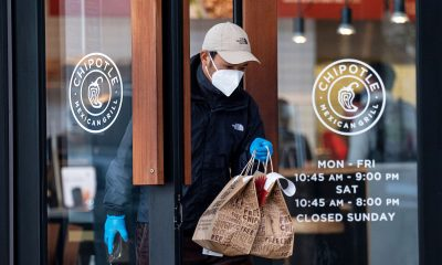 Chipotle earnings beat, sales surge as dine-in customers return to restaurants
