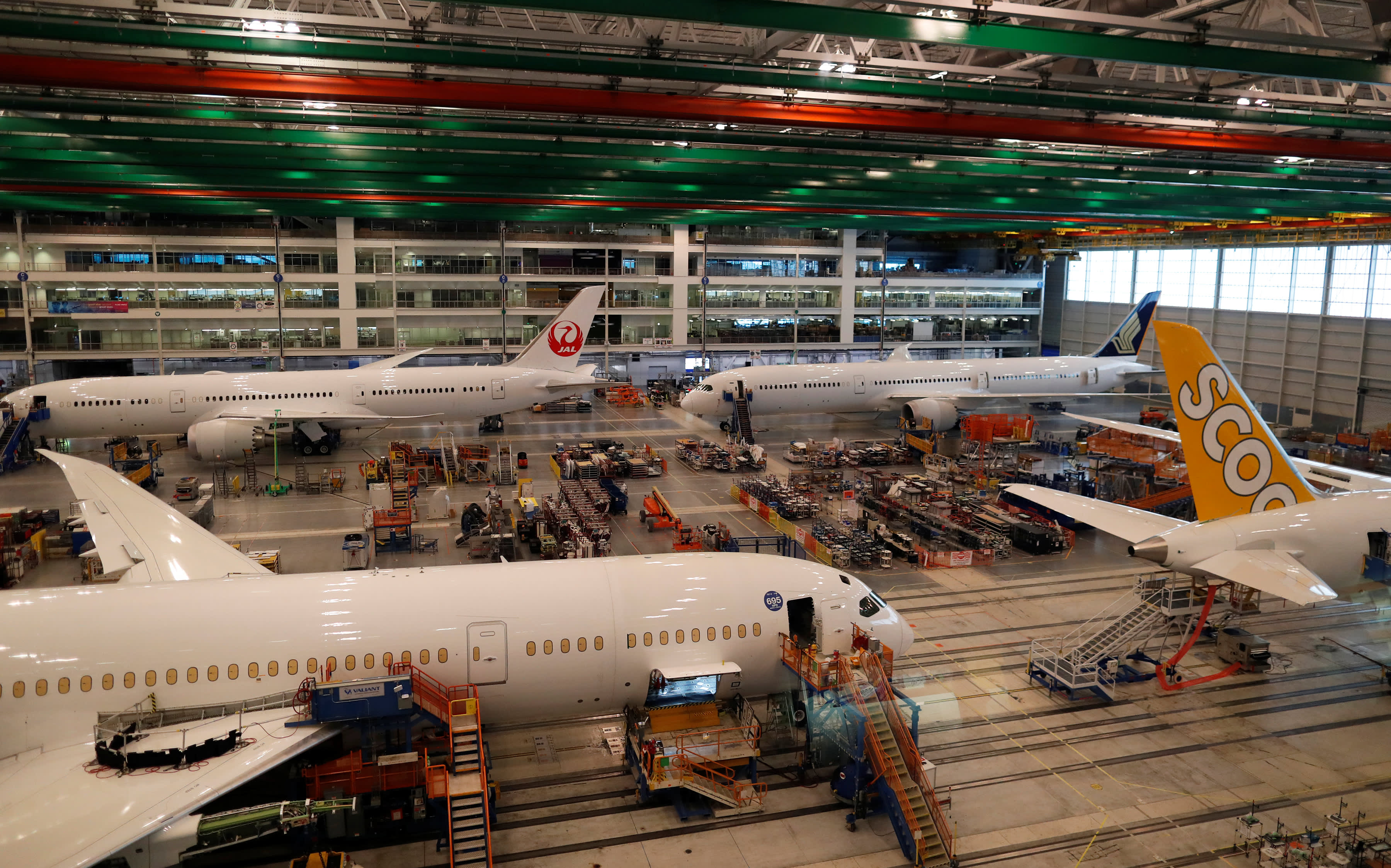 FAA says Boeing will fix new production defect on 787 Dreamliners before deliveries resume