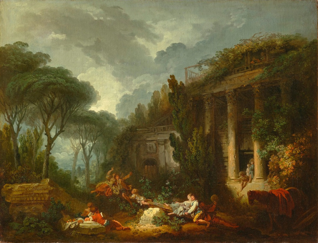 France Acquires Two Fragonard Paintings Thought to Be Missing for Centuries