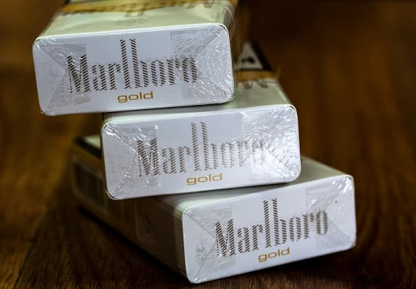 Marlboro maker Philip Morris says it may stop selling cigarettes in Britain within 10 years