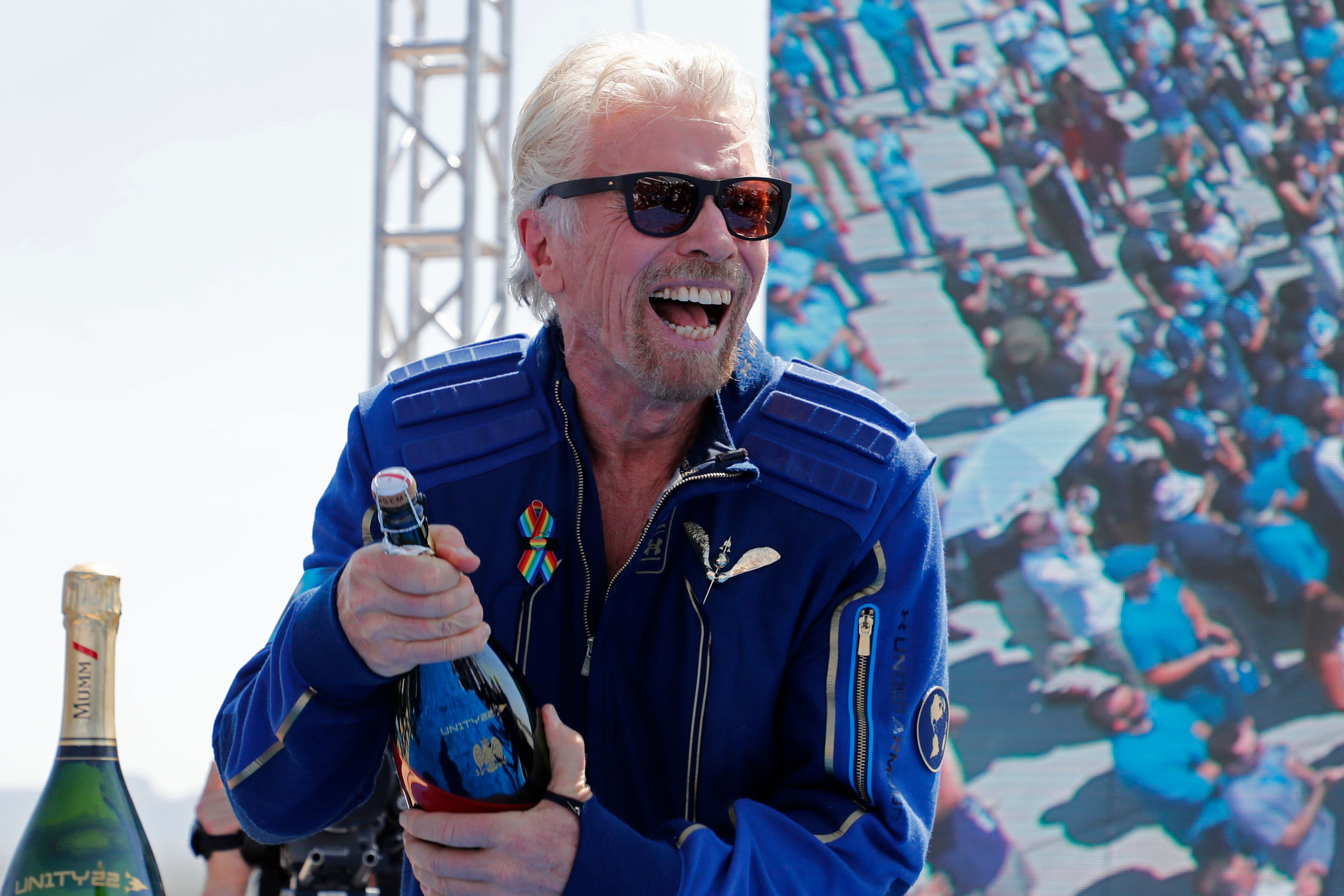 NASA chief says Richard Branson's flight was a great milestone in human space exploration