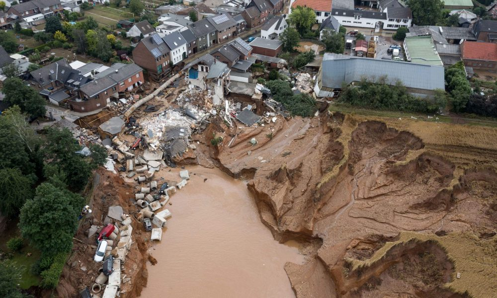 Photos show disastrous flooding in western Europe