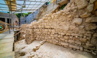 Remains of 2,700-Year-Old City Wall Discovered in Jerusalem