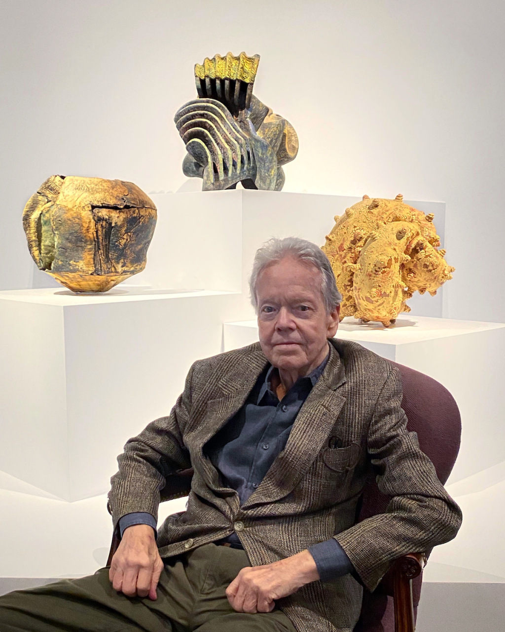 Robert A. Ellison Jr., Champion of Modern Ceramics and Pottery of All Kinds, Has Died