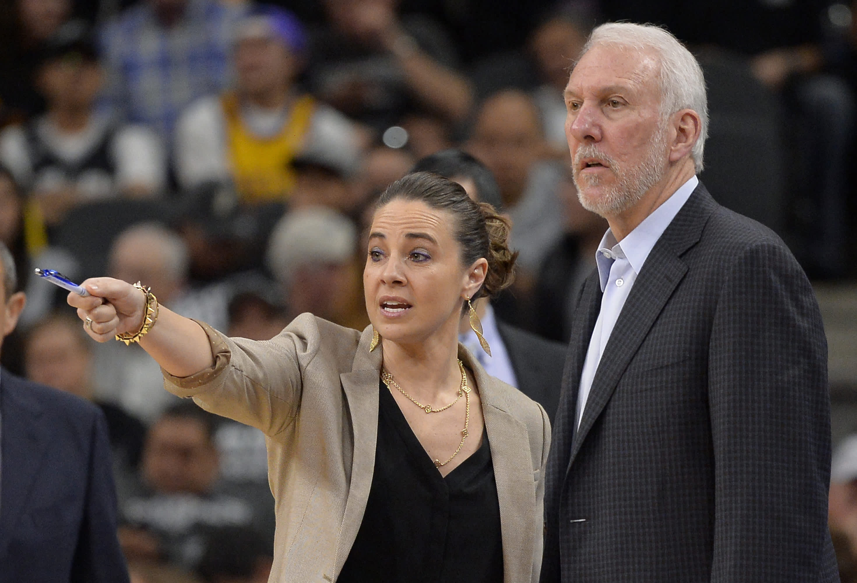 Spurs' Becky Hammon looks to her 'next step' in pursuit of making more NBA history