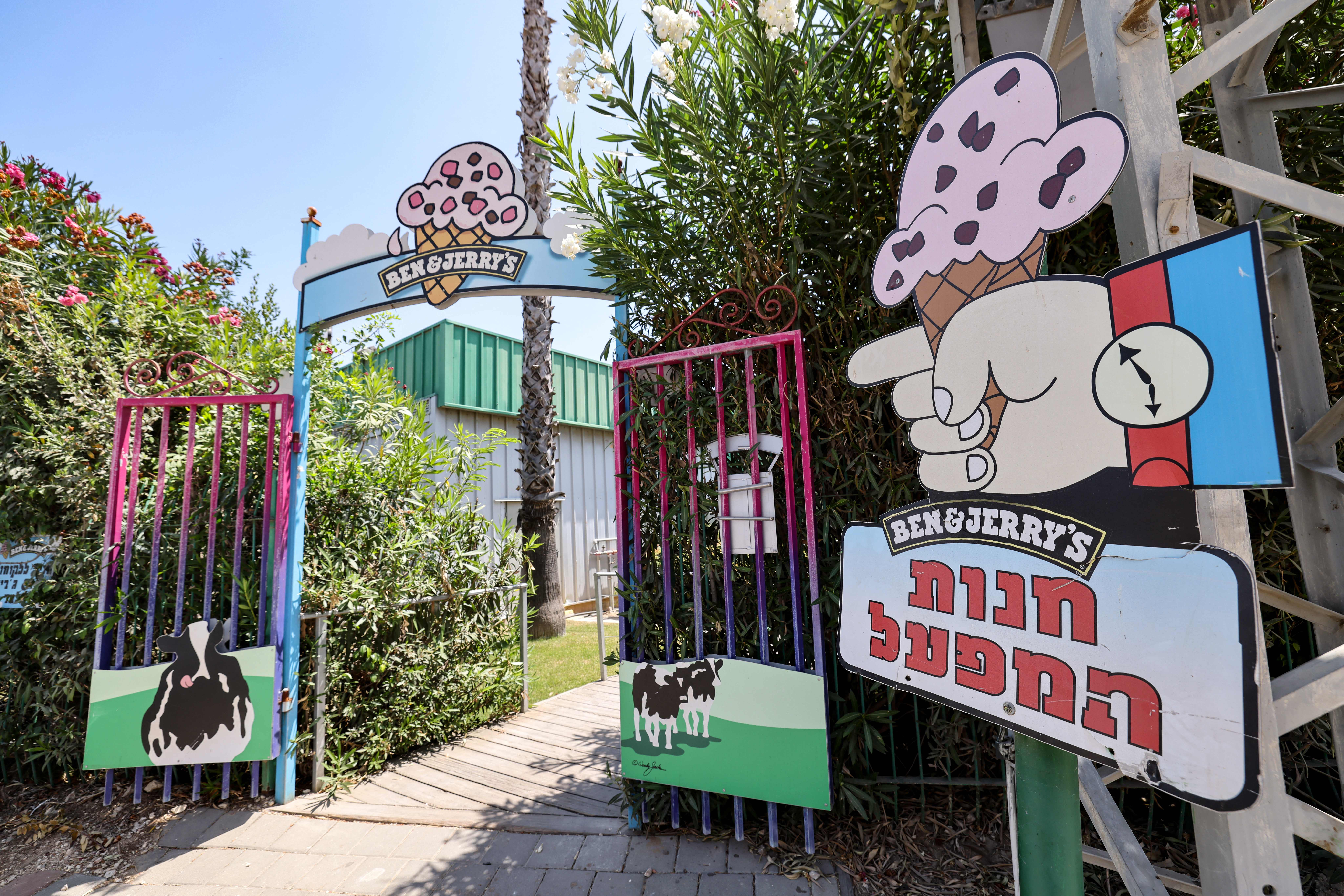 Texas and Florida get involved in Israel's fight with Ben & Jerry's over West Bank boycott