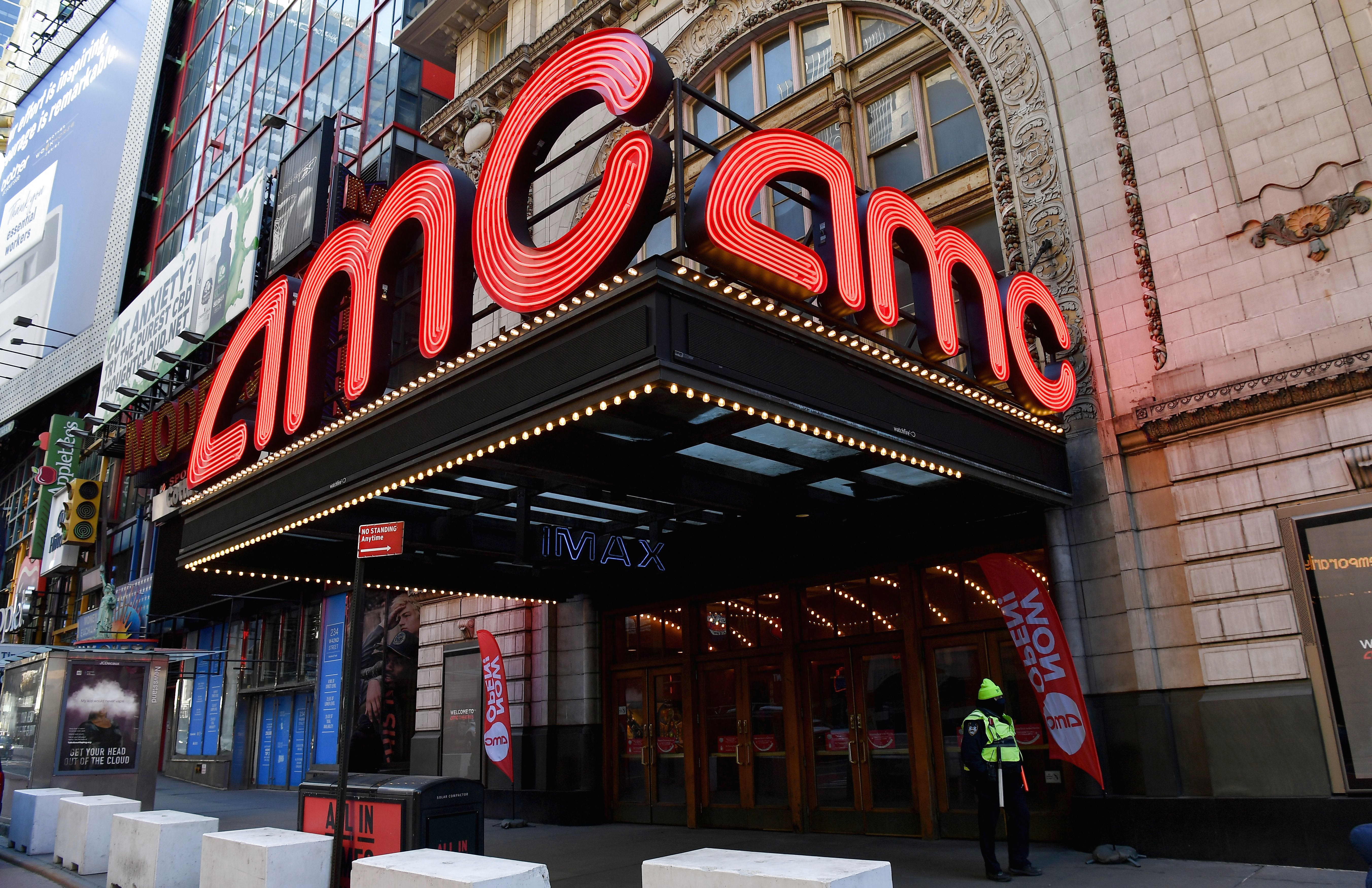 AMC reaches deal with Warner Bros. for 45 days theatrical exclusivity in 2022
