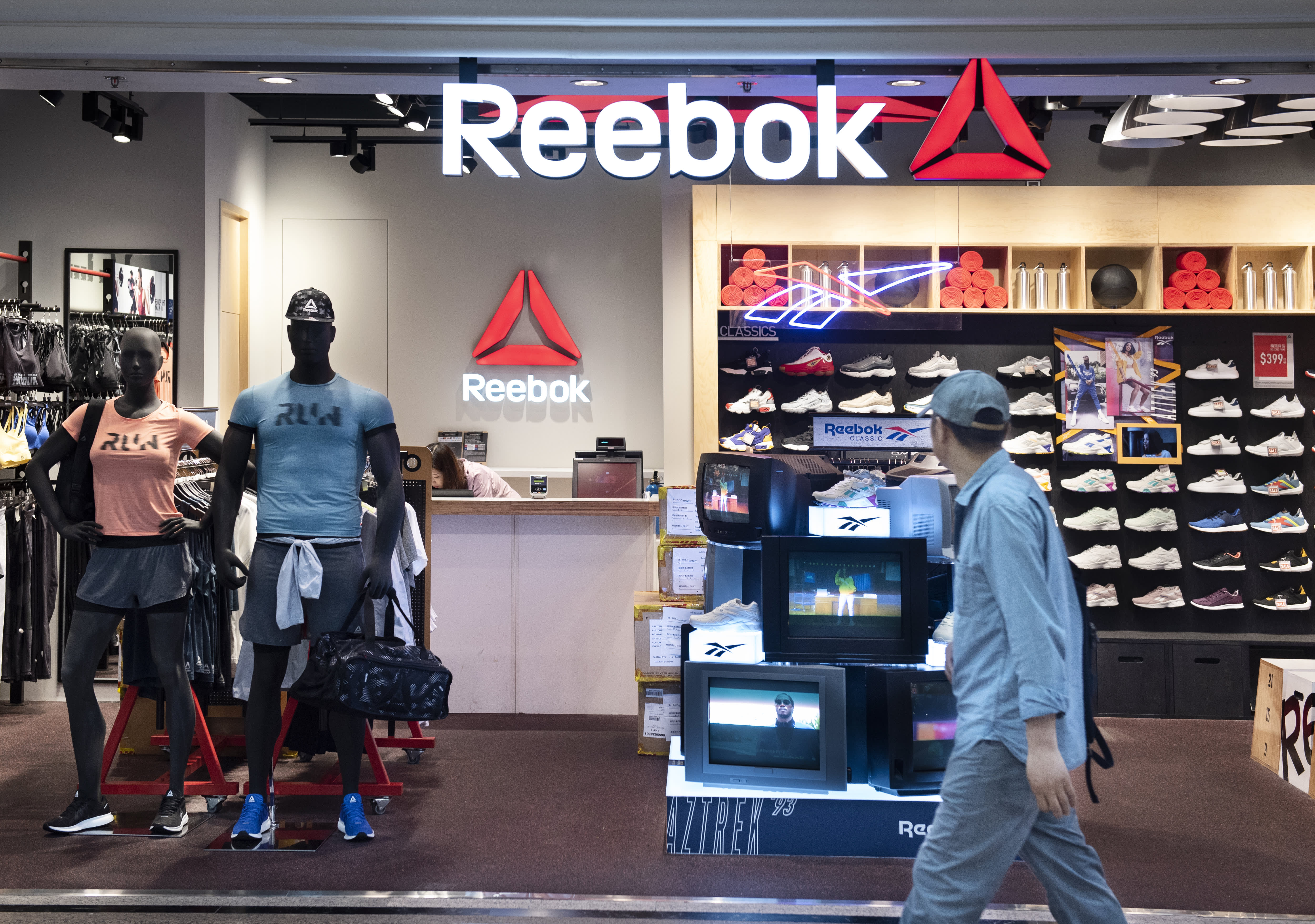 Adidas strikes deal to sell off struggling Reebok to Authentic Brands Group