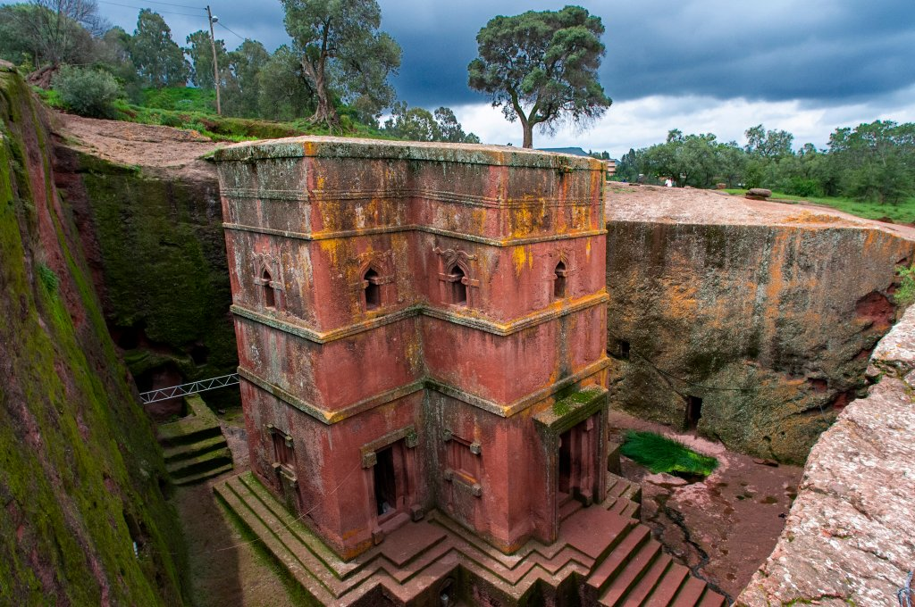 Centuries-Old Rock-Hewn Churches in Ethiopia Threatened by Warfare