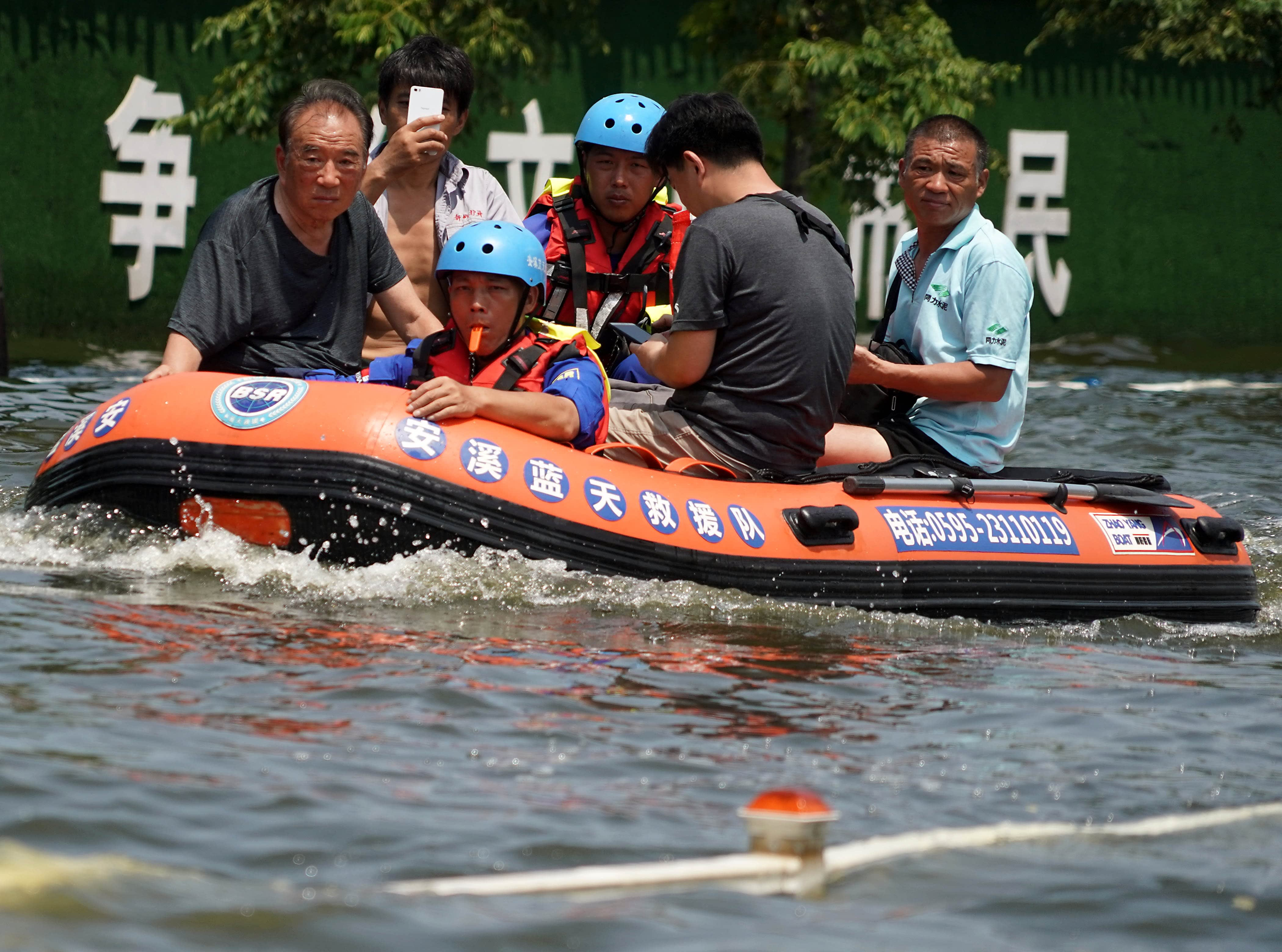 China's extreme weather deals a big blow to insurance companies