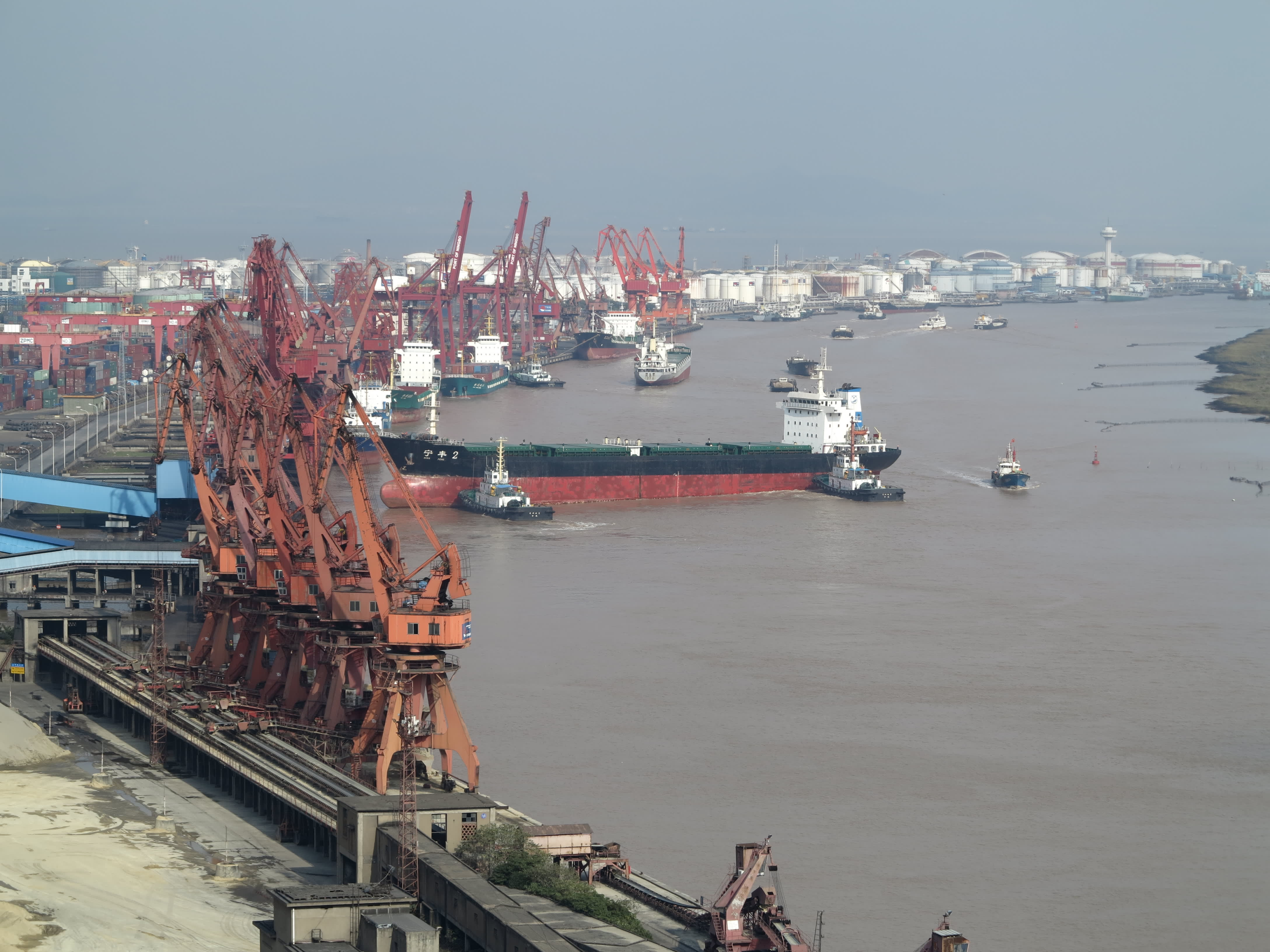 China's zero-Covid policy is so strict that it shut down a whole shipping terminal after just one case