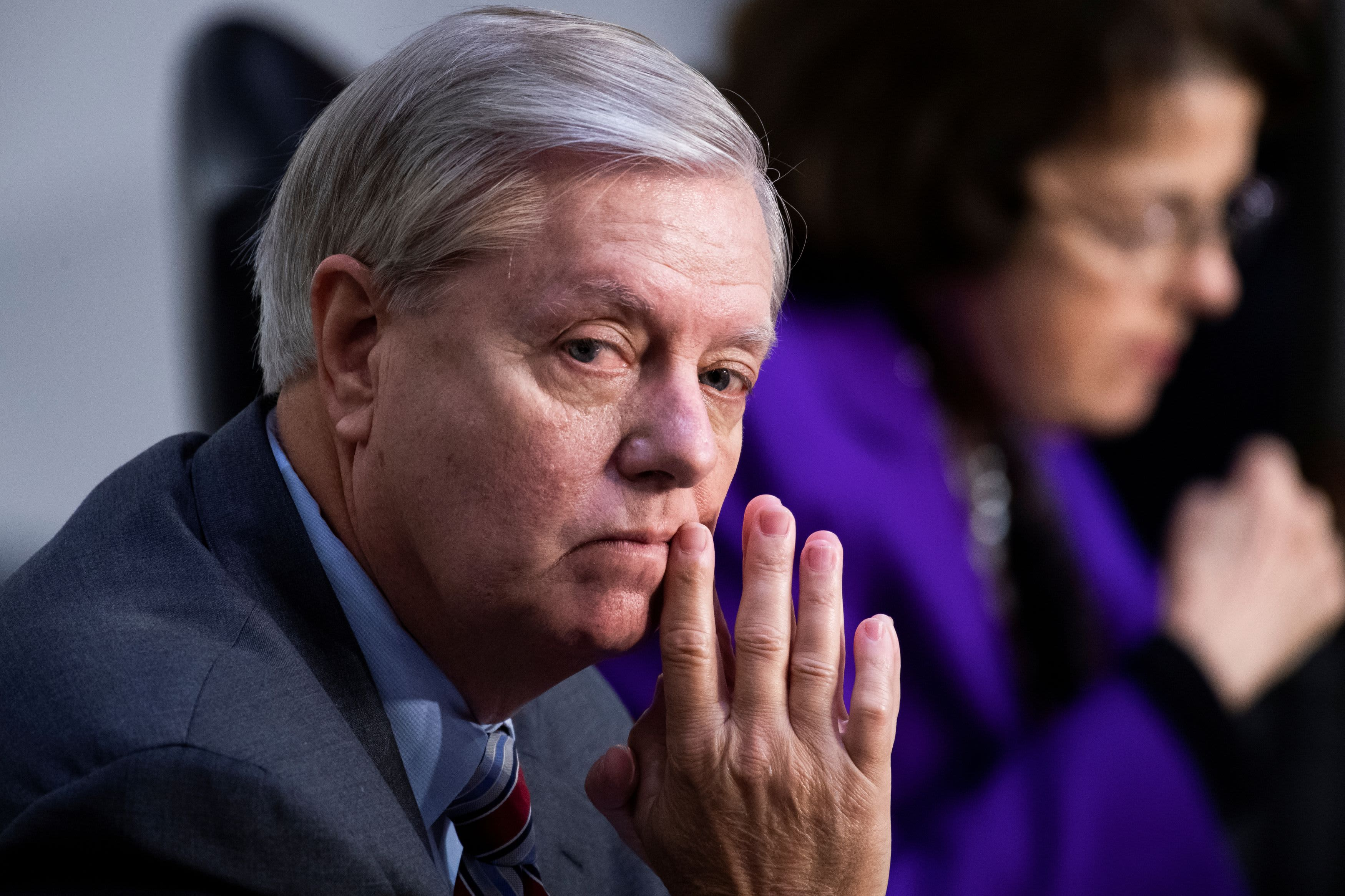 GOP Sen. Lindsey Graham tests positive for Covid, more senators say they attended cookout on same Manchin boat