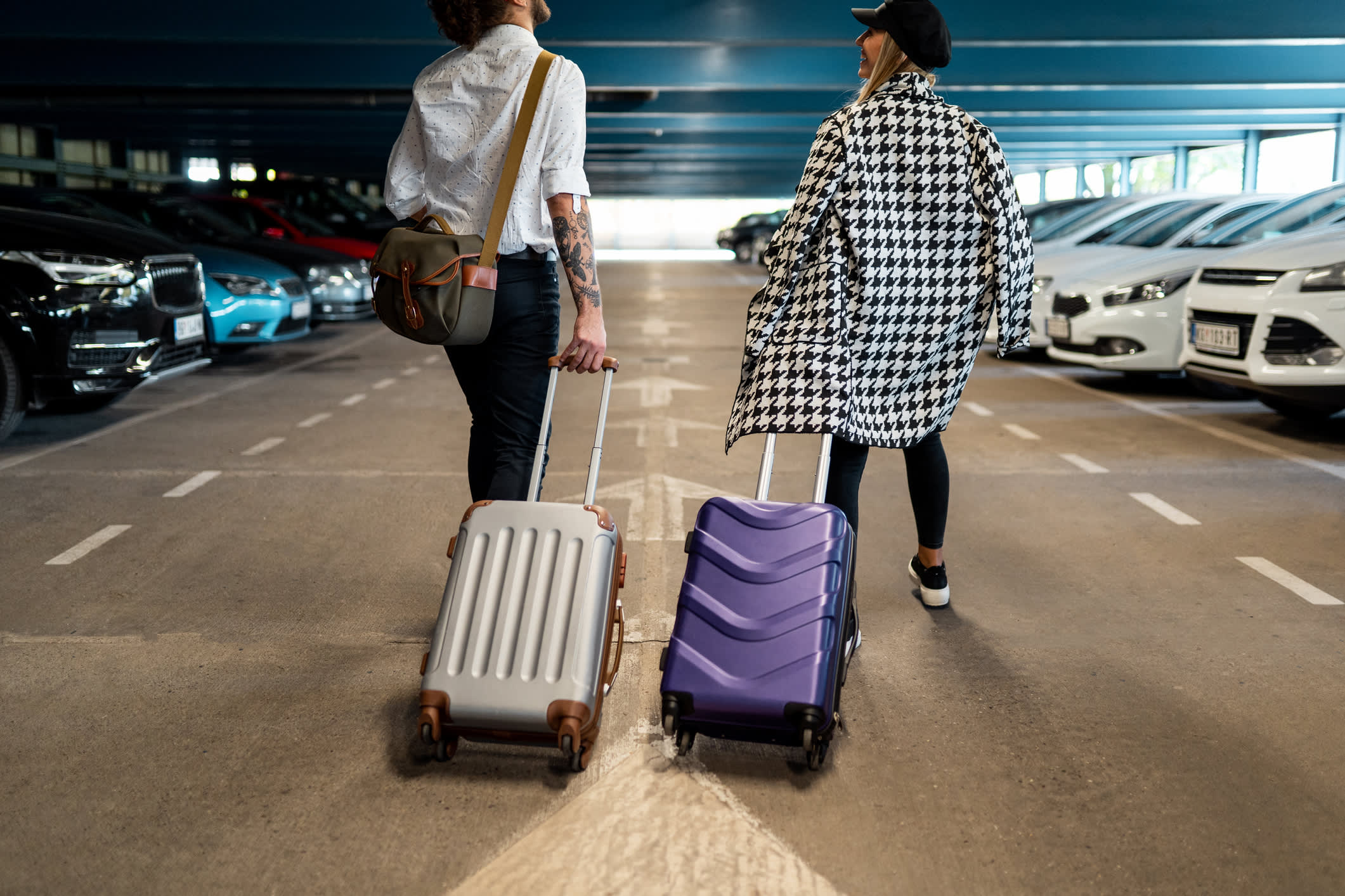Here are the country's cheapest airports to park at — and where rideshares and transit are better bets