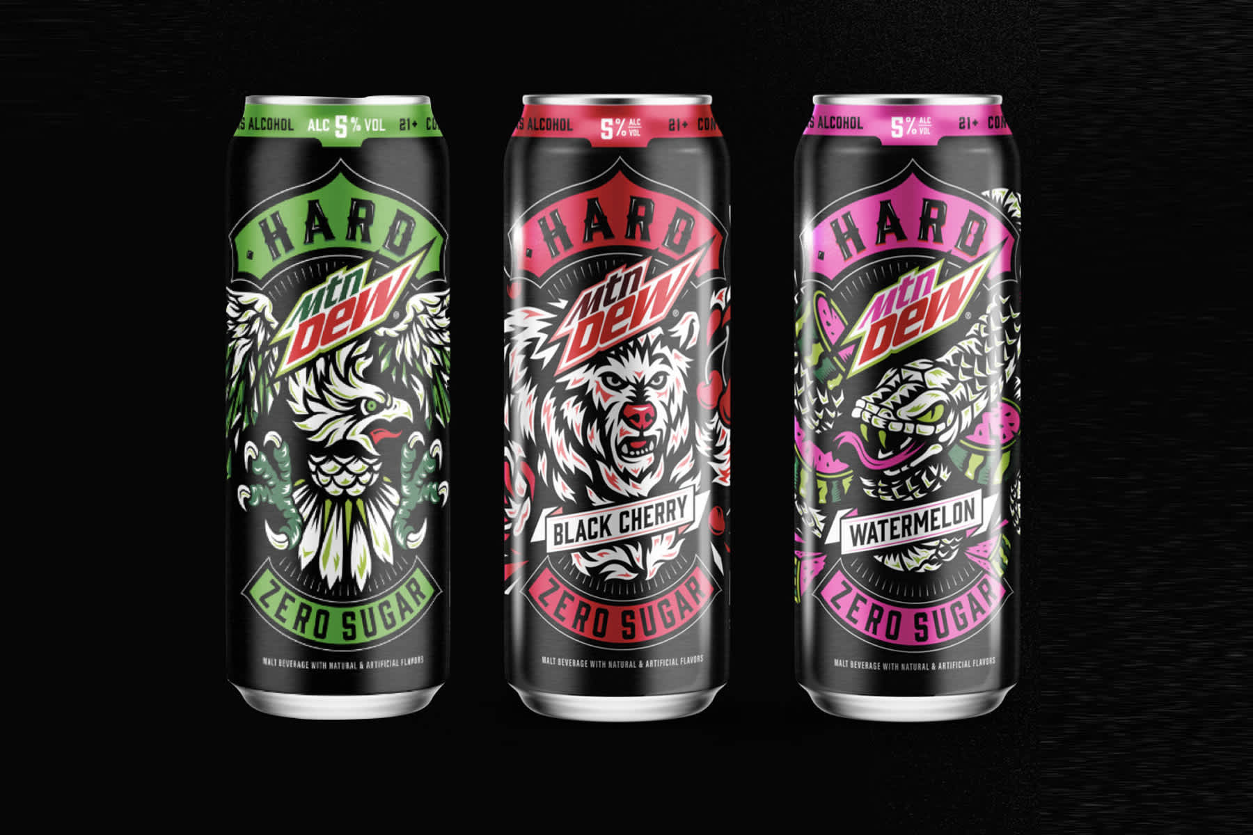 PepsiCo and Boston Beer to create alcoholic Mountain Dew drink