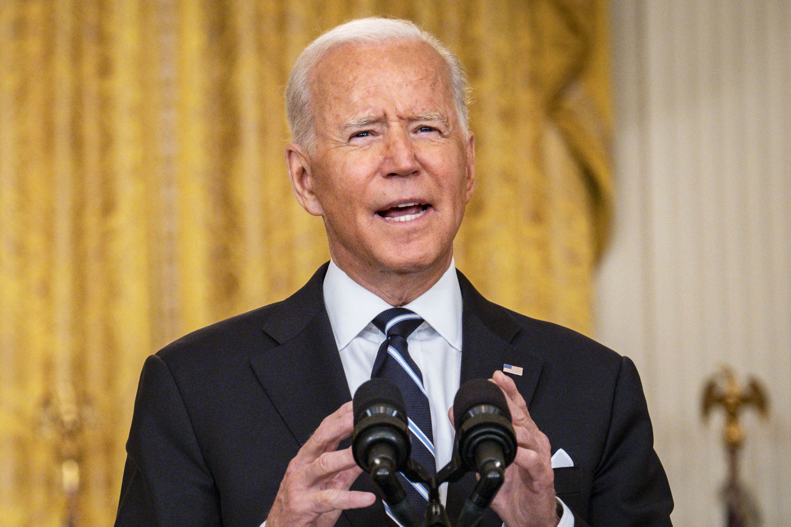 'Please get vaccinated now,' Biden urges after FDA approves Pfizer Covid shots