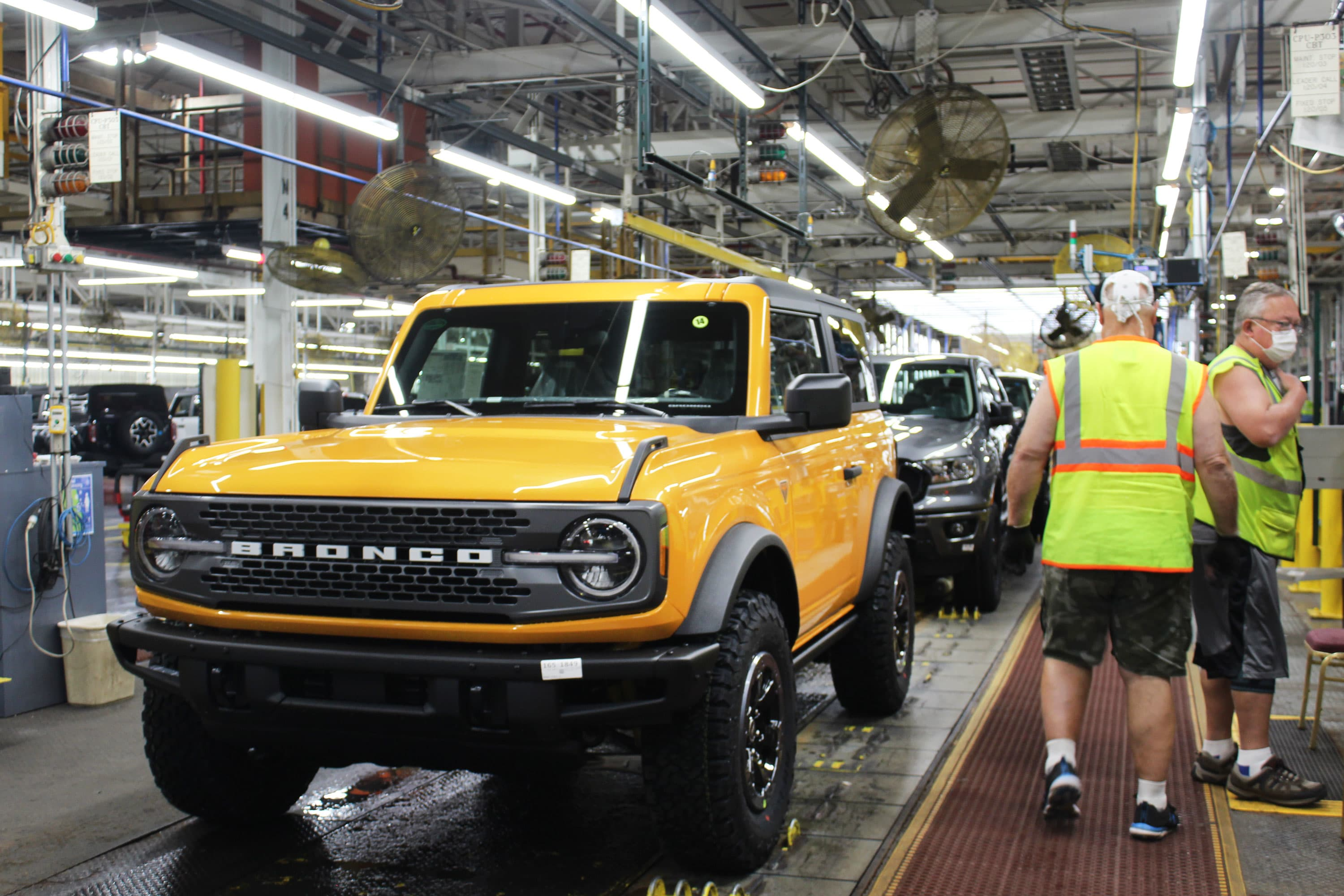 Production snags cause Ford to delay deliveries of Ford Bronco SUV and Mustang Mach-E