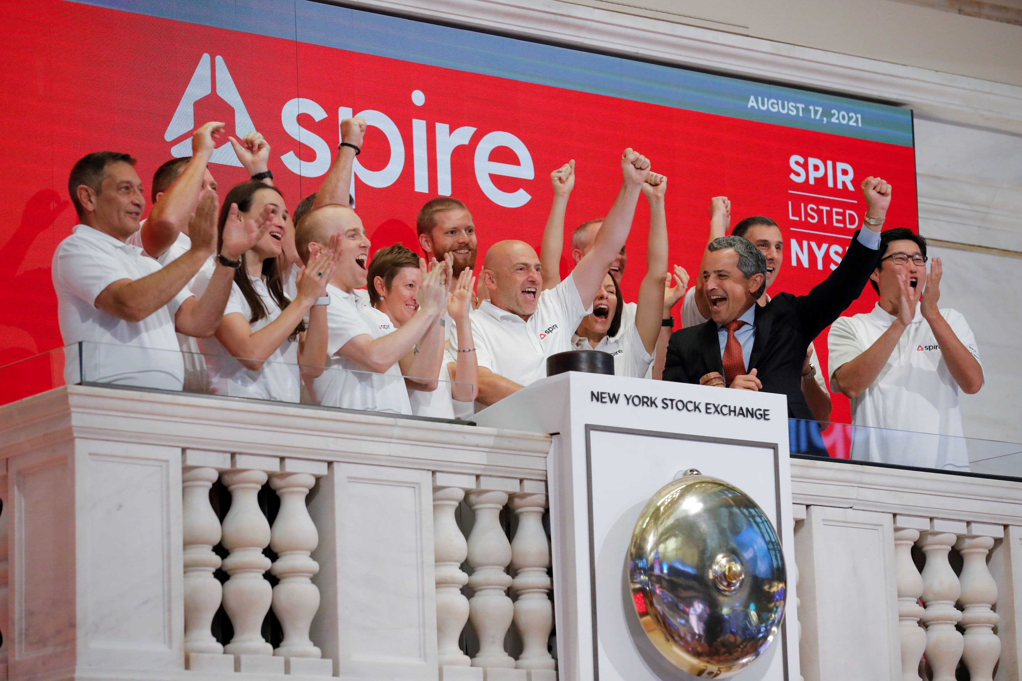 Satellite company Spire begins trading on the NYSE after completing SPAC merger