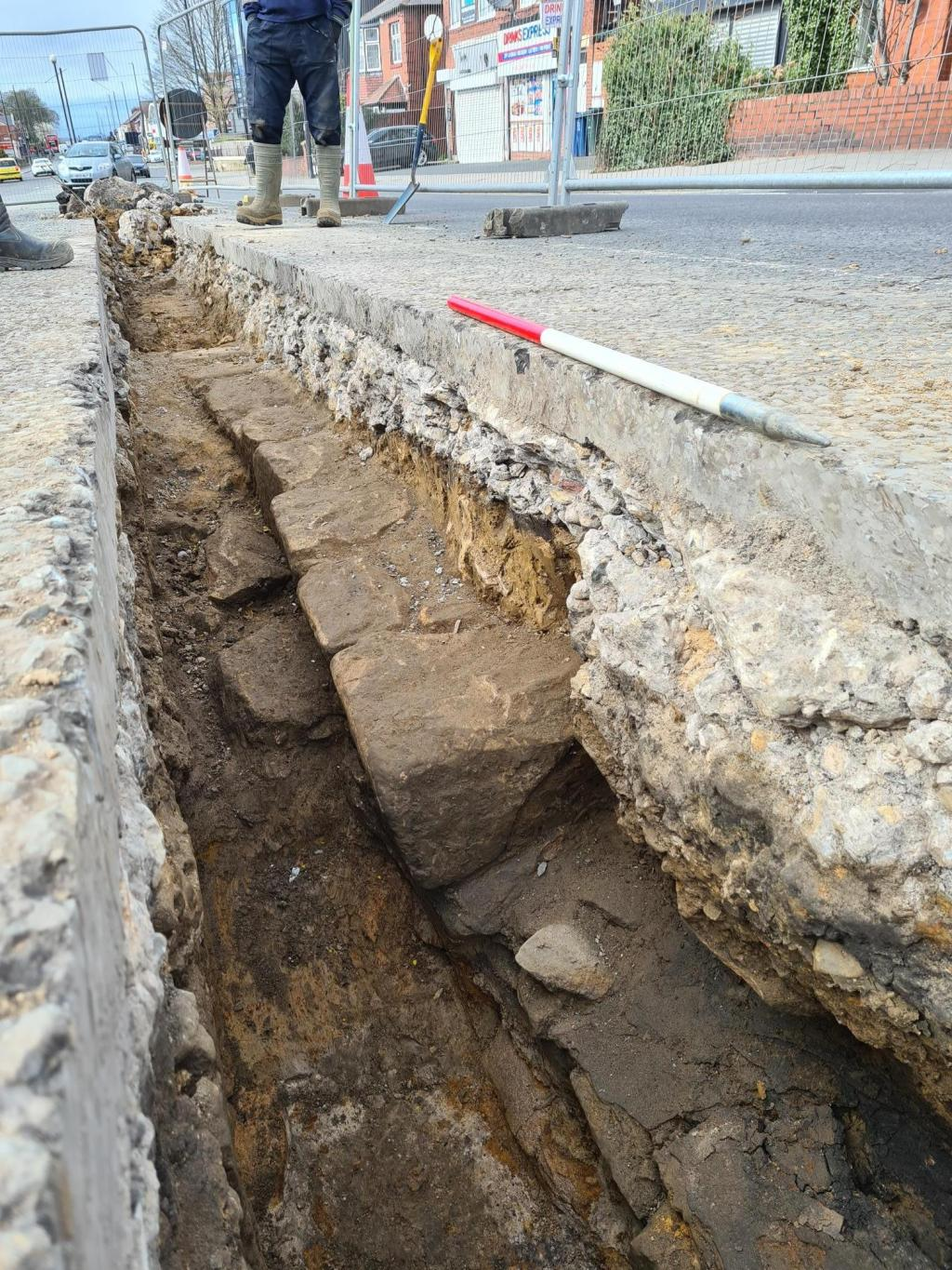 Section of 1,900-Year-Old Hadrian's Wall Uncovered